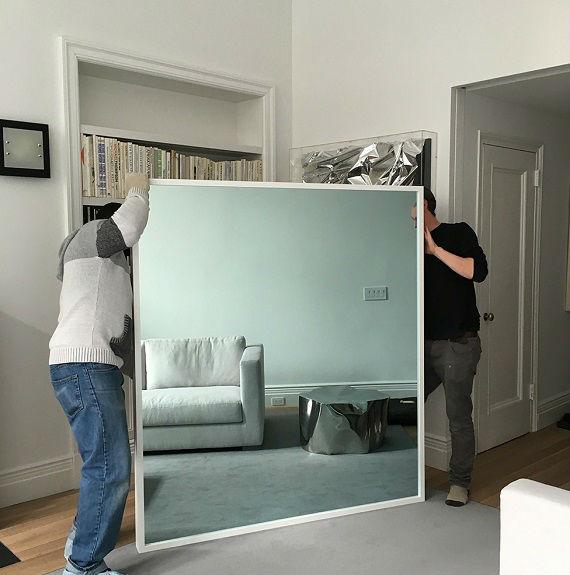 Профессиональный монтаж зеркал