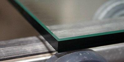 Обработка кромки стекла и зеркал в Минске - шлифовка, полировка кромки